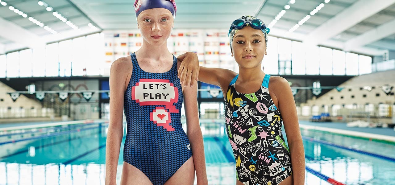 arena girls swimwear deals