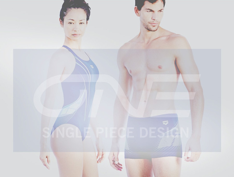 arena One single piece design swimsuit